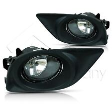 For 12-14 Nissan Versa Fog Light w/Wiring Kit & Wiring Instructions - Clear