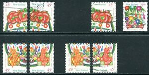 New Zealand 1993 #2 Used Lot with Booklet Varieties
