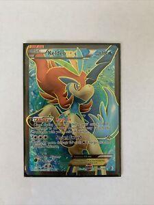 Keldeo Full Art Holo Pokemon card 142/149 Boundaries Crossed-NM/Mint Condition