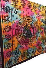 grande decoración de pared indio Meditación Buda Tapiz Chakra Boho Manta