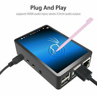 """3.5"""" Inch Touch Screen Monitor LCD Display 480x320 For Raspberry Pi 4+ Case+Pen"""