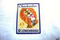 NEW.Bavarian Alpine Hat PIN.OKTOBERFEST LOEWENBRAU, LION (58)