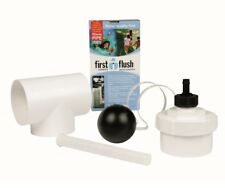 Rain Harvesting 90mm First Flush Rain Water Diverter Improves Water Quality