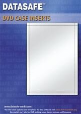 50 Datasafe Matt DVD Case Inserts / Inlays / Covers