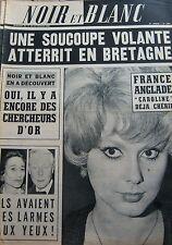 FRANCE ANGLADE CLEMENTINE CHERIE en COUVERTURE de NOIR et BLANC No 1094 de 1966