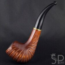 """New Handmade carved Stylish pear tobacco smoking pipe   pipes - 6.1"""" (15,5cm)"""