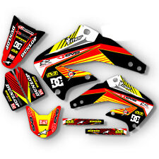 2002 - 2008 HONDA CR 125 250 R DIRT BIKE GRAPHICS KIT MOTOCROSS DECALS MX DECO
