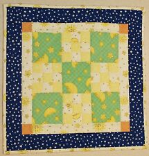 Baby Counting Sheep Miniature Handmade Finished Doll Quilt  REDUCED
