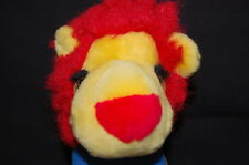 "Red Yellow Lion Blue Shirt Tennis Shoes King Plush 11"" Toy Lovey"