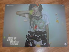 4MINUTE - NAME IS (HYUNA) [ORIGINAL POSTER] *NEW* K-POP