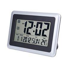 EWTTO 2138 Large Display Digital Wall Desk Alarm Clock with Date Calendar &