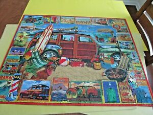 Old White Mountain Surfin Woody Lewis Johnson 1000 Piece Jigsaw Puzzle Complete