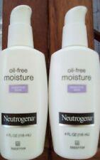 2 Neutrogena Oil-Free Daily Sensitive Skin Face Moisturizer - 4 fl oz each