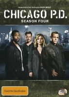 Chicago P.D.Season Four 4 Fourth DVD NEW Region 4
