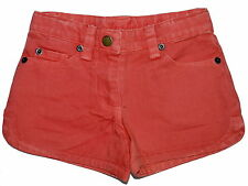 Marie Chantal FiFi Coral Denim Cotton Shorts  Age 4 NWOT