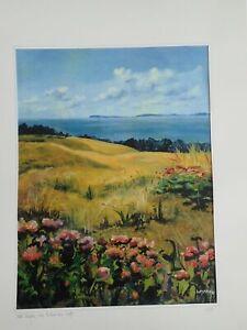 Kunstdruck Poster Ostsee Insel Rügen Bild Kreidefelsen