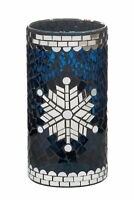 Yankee Candle Christmas Mosaic Winter Glimmer Large Jar Holder NEW