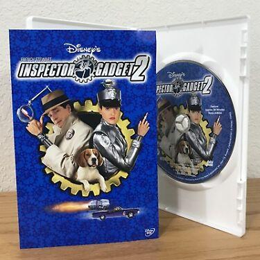 Disneys INSPECTOR GADGET 2 DVD 2003 wSCENE SELECTION INSERT  REGION 1