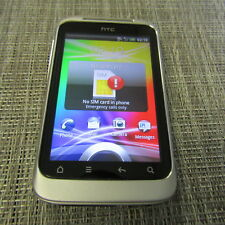 HTC WILDFIRE S - (UNKNOWN CARRIER) CLEAN ESN, WORKS, PLEASE READ 22136