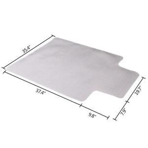 "48x 36"" PVC Floor Mat Protector Carpet for Home Office Desk Chair Studded Back"