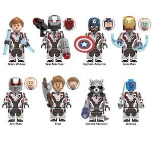Set de 8 figurines Avengers End games!