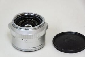 Contarex Distagon 35mm F4 lens with front cap