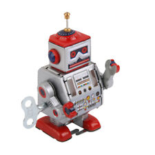 Collectible/Gift Wind Up Walking Robot MS406 Retro Clockwork Tin Toy