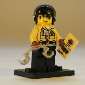 LEGO Figurines Série 2 8684 Nombre 6 Policier En Sachet Neuf