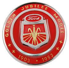1953 FORD TRACTOR GOLDEN JUBILEE HOOD EMBLEM  PART # NAA-16600-A