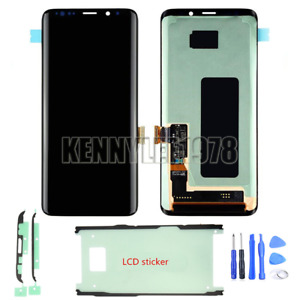 LCD Display Super Amoled Touch screen Digitizer for Samsung Galaxy S9 G960 tool