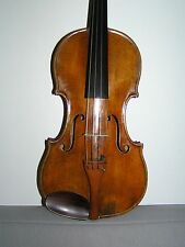 Violin with Italian sticker