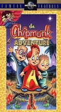 The Chipmunk Adventure [VHS]