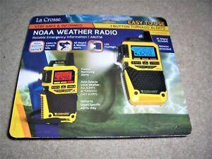 La Crosse NOAA Weather Radio S83301  AM/FM Tornado Only Alert W/AC Adaptor NIB
