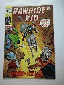 RAWHIDE KID  #78  (1970)  7.0 FN/VF