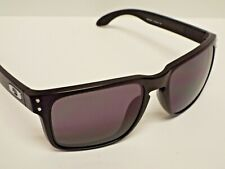 Authentic Oakley OO9102-01 Holbrook Matte Black Warm Grey Sunglasses
