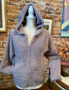 Barefoot Dreams Beach Rock CozyChic Relaxed Zip-Up Hoodie New