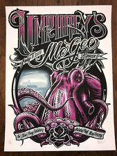 2017 Umphrey's McGee Art Print Poster Maxx242 Signed 15/50 New Jersey