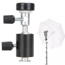 Swivel Hot Shoe Flash and Umbrella Holder-F Style | Bracket for Speedlite Flash