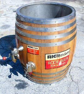 1950's Vintage Richardson Root Beer / Coca Cola Barrel Dispenser