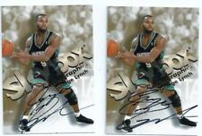 1998/99 Skybox Autographics George Lynch Signed On Card Auto INSERT  SP  RARE