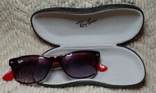 Ray Ban New Wayfarer 2132 Black And Red Sunglasses