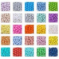 10 Perle 12mm Silicone Couleur au Choix, Creation Bijoux, Attache tetine ...