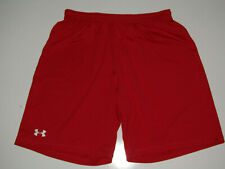 UNDER ARMOUR Loose Heat Gear Athletic Shorts Red NWT MENS Size M Medium