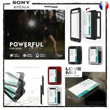 Etui Coque housse Antichocs incassable LOVE MEI Shockproof Case Sony Xperia