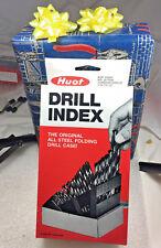 Lastcut 29 Pc Bright Jobber Hss Drill Set Organized Huot Case 118 Degree Point
