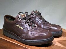 MEPHISTO Men's Brown Leather Casual Oxfords Walking Shoes SZ 9.5 Runoff