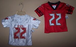 Youth Toddler Boys #22 MARTIN Tampa Bay BUCCANEERS Football Jersey 12M 18M 2T 3T