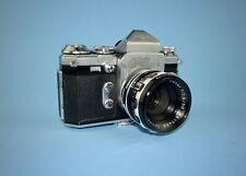 Wirgin Edixa Reflex-B SLR camera from the late 1950s - Xenar f/2.8 lens