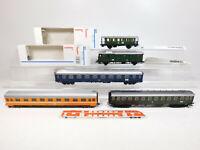 CM514-1# 5x Märklin H0/AC Personenwagen etc KK: 4316+4301 etc, Mängel/gut