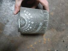 New listing Curv-O-Mark Pipe Wrap-A-Round For Marking Pipe-Contour Sales Co.